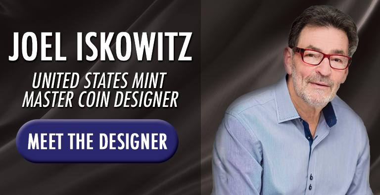 Joel Iskowitz - The Most Prolific Master U.S. Mint Designer in History